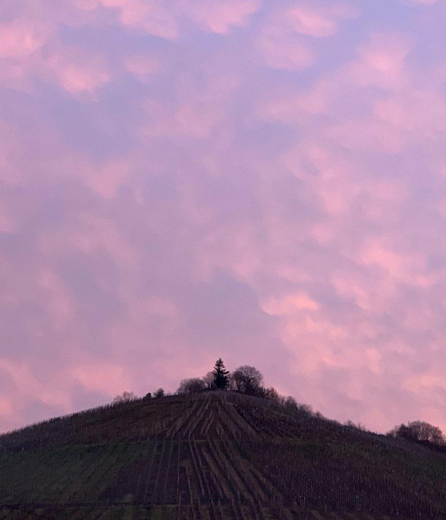 Himmel über der Mosel im Februar '21